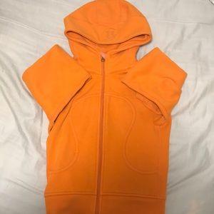 Orange Lululemon Athletica Jacket